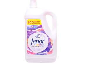 Lenor Gel na praní Divoká růže XXXL 80 Pracích cyklů