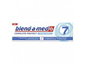 blendamed zahncreme complete protect extra frisch