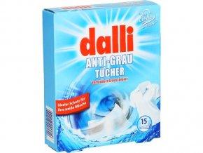 Dalli ubrousky proti zapírání bílého prádla 15ks