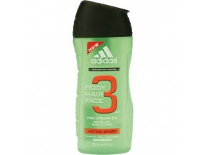 Adidas Sprchový gel 250ml 3in1 Active Start Revitalising