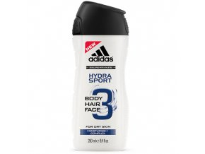 Adidas Sprchový gel 250ml 3in1 Hydra Sport