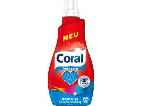 coral color fresh praci gel na barevne pradlo 12l 24pd nemecko