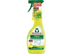 Frosch Hygienický čistič koupelny Citrus 500ml - BIO