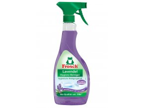 Frosch Hygienický čistič koupelny Levandule 500ml - BIO