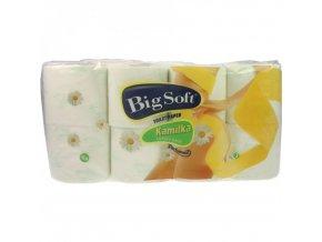 Kamilka Big Soft Luxury pack Toaletní papír třívrstvý 8ks á 160 útržků