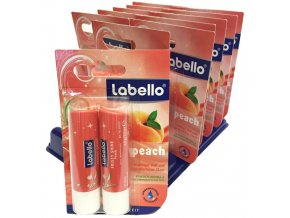 Labello Balzám na rty Fruity Peach DUO-Pack