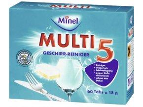 Minel Multi 5 Tablety do myčky 60ks