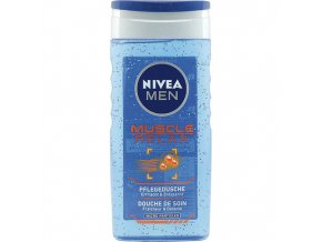 Nivea Sprchový gel 250ml For Men Muscle Relax 2v1