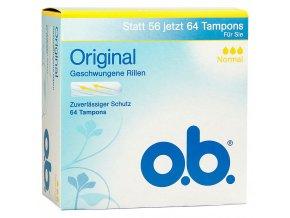 O.B. Original Normal 64ks tamponů