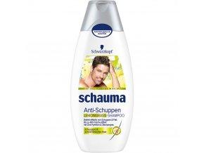 Schauma Šampon 400ml Pro Muže proti lupům s citronovou trávou