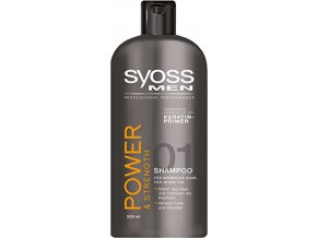 Syoss Šampon 500ml Power and Strength