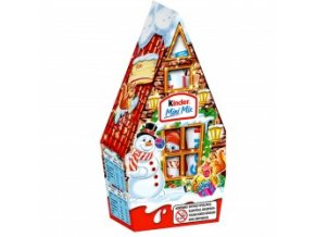 Kinder Vánoční čokoládový Mini mix Chaloupka 79g