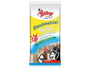 Poliboy Staubmeister - vlhčené antistatické utěrky 24 ks