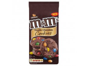 M Ms Double Chocolate Cookies 180g z1