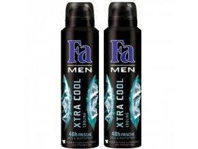 Fa Deodorant 2x150ml For Men Extra Cool Výhodné balení