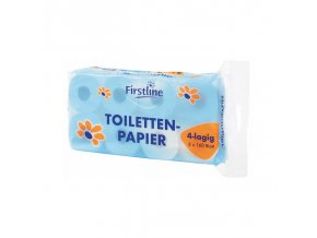 firstline toilettenpapier 4lagig 10er 160 blatt