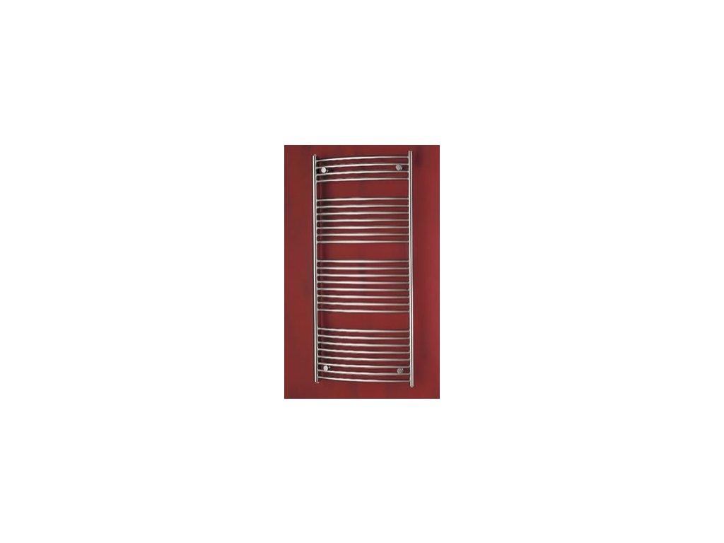 PMH Blenheim 600 x 1640 mm B8MS koupelnový radiátor metalická stříbrná