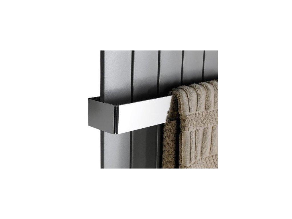 Sapho COLONNA držák ručníků 602x74mm, leštěný nerez IRPA18