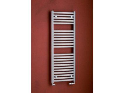 PMH Marabu 450 x 783 mm M1MS koupelnový radiátor metalická stříbrná