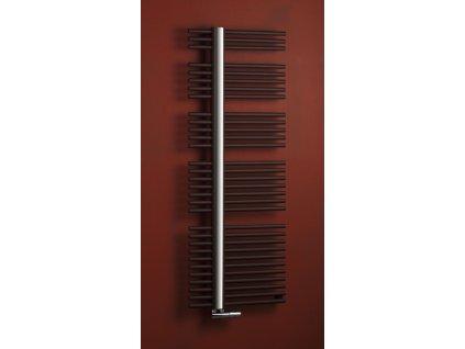 PMH Kronos 600 x 800 mm KR1A koupelnový radiátor metalická antracit