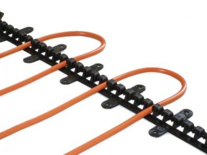 89472 plastova t lista pro fixaci kabelu 50cm