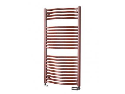 Isan Linosia Plus koupelnový žebřík 730/600 MINI 300W CHROM DLIP07300600