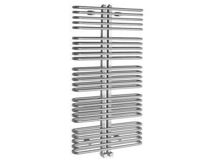 Sapho ASTRA otopné těleso 600x1170 mm, 850 W, stříbrná AS518