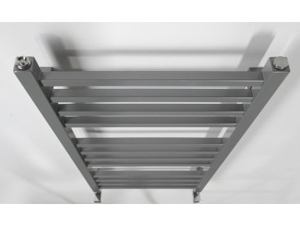 Sapho METRO otopné těleso 450x890 mm, metalická stříbrná IR402