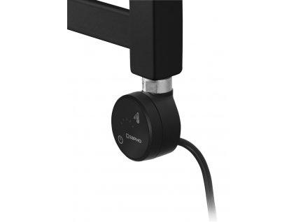 Sapho MOA topná tyč s termostatem a bluetooth, 200 W, černá