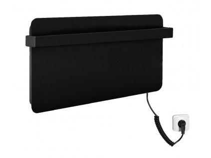 SAPHO ELMIS elektrický sušák ručníků 600 x 300mm, 80W, antracit EB610