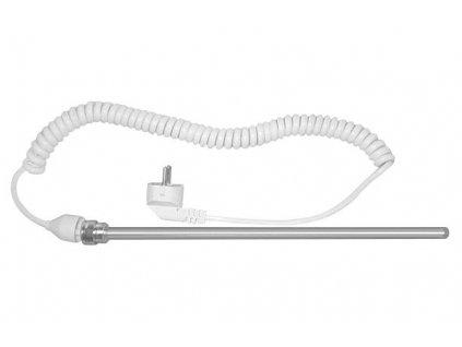 Elektrická topná tyč bez termostatu, kroucený kabel, 400 W LT90400