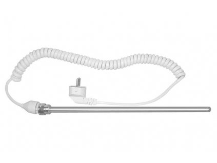 Elektrická topná tyč bez termostatu, kroucený kabel, 600 W LT90600