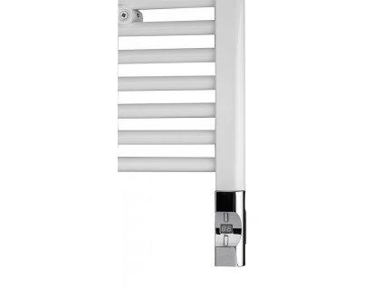 101970 elektricka topna tyc s termostatem a dalkovym ovladanim 900 w d tvar chrom