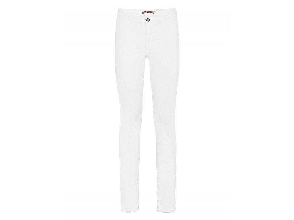 e5fbf1427e2d Dámske biele nohavice Guess - TOP OUTLET