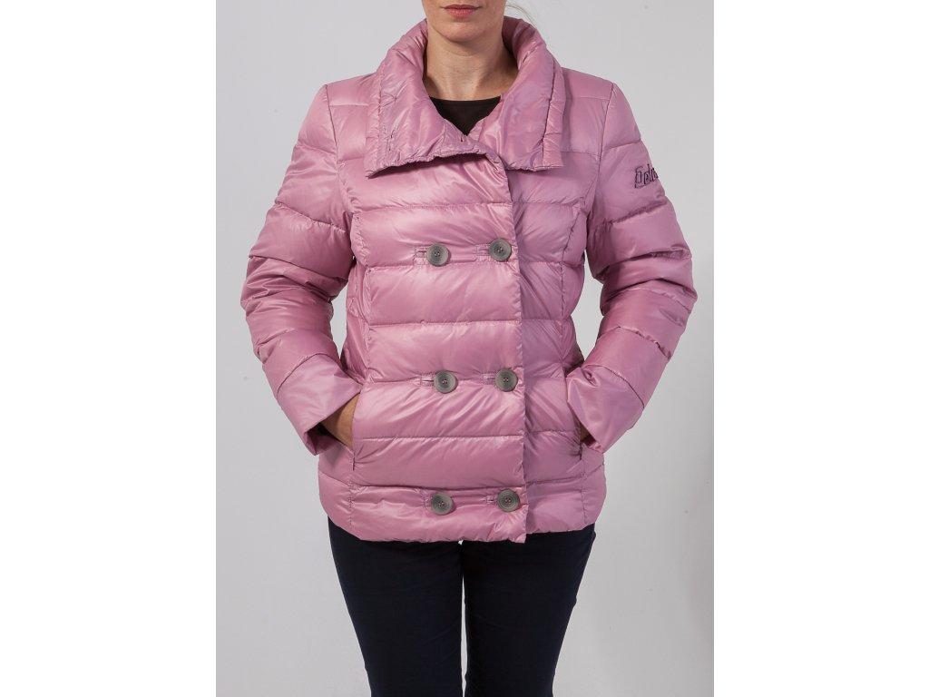 96e30f8cf845 Dámska ružová zimná bunda DOLOMITE - TOP OUTLET