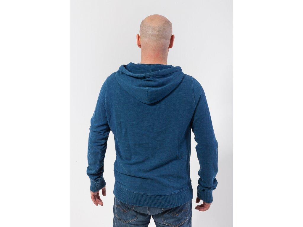 4d24ff2827 Pánska modrá mikina Tommy Hilfiger - TOP OUTLET
