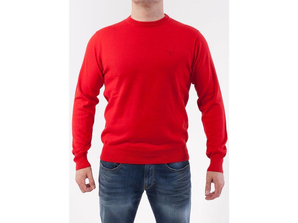 3d47d7c78ee1 Pánsky krvavo červený sveter GANT - TOP OUTLET