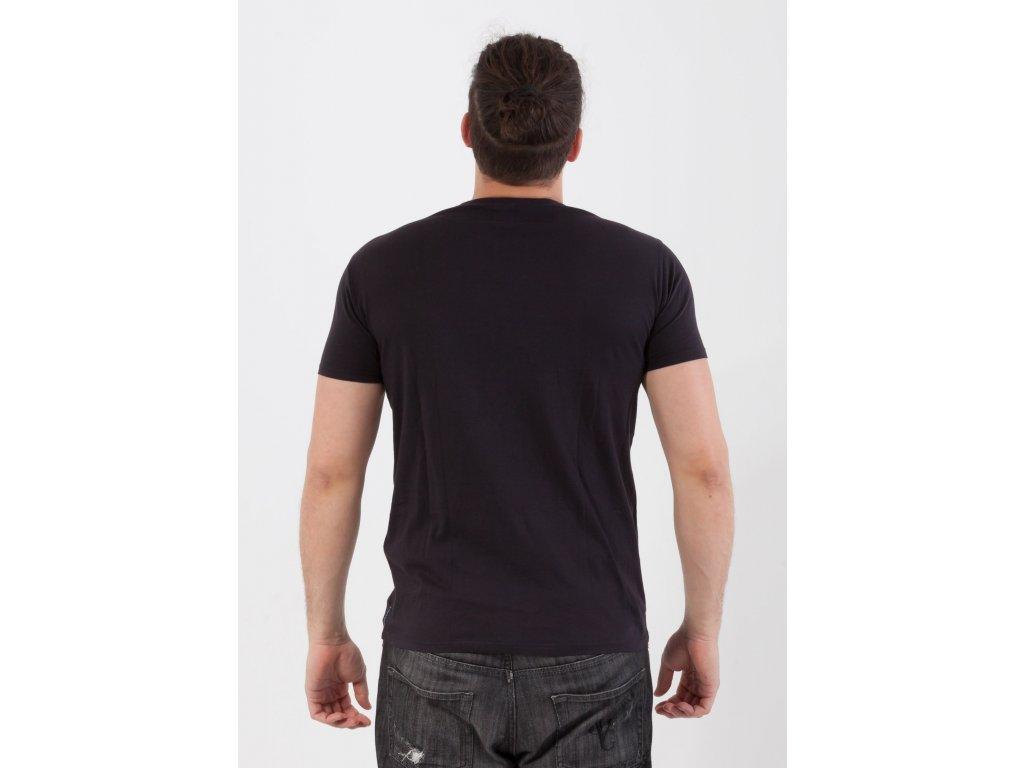 Pánske čierne tričko Armani Jeans Pánske čierne tričko Armani Jeans e516cf7714c