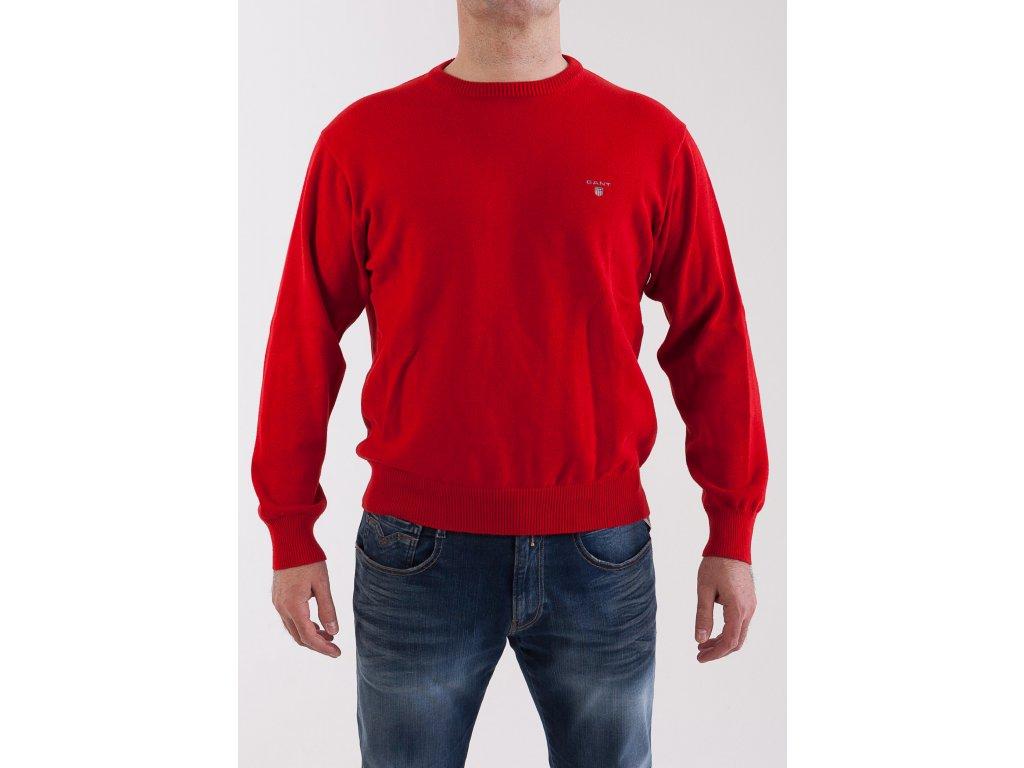 19437dd02456 Pánsky červený sveter Gant - TOP OUTLET