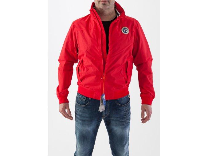 Červená prechodná bunda Napapijri