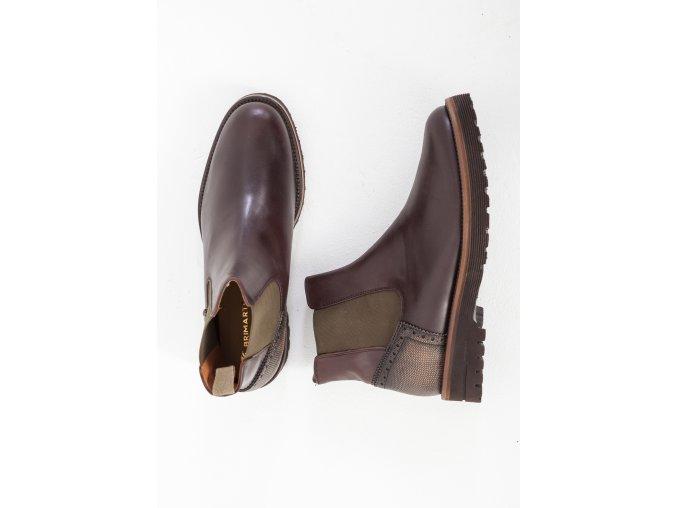 Hnedé topánky Brimarts