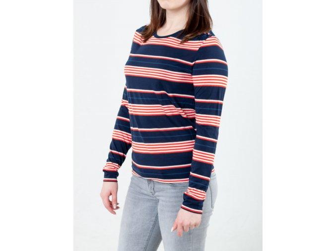 Pruhované dámske tričko Gant