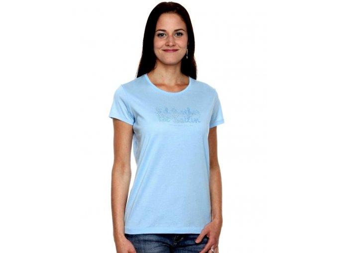 Dámske bledomodré tričko Gant