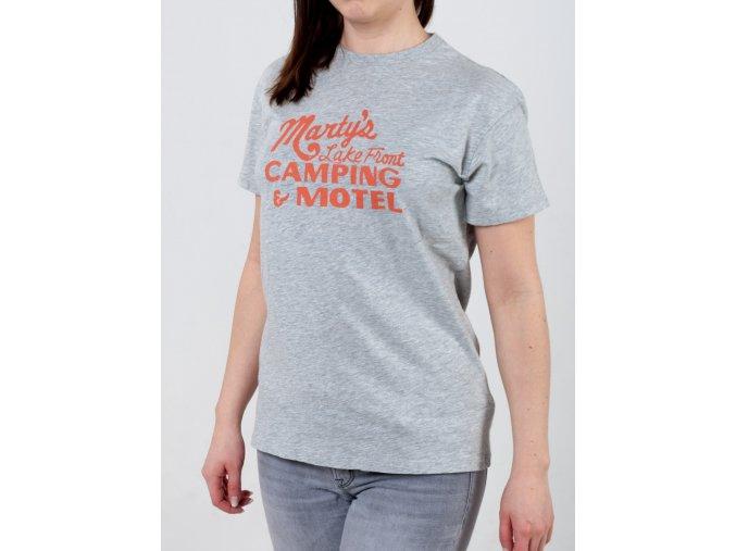 Šedé dámske tričko Gant