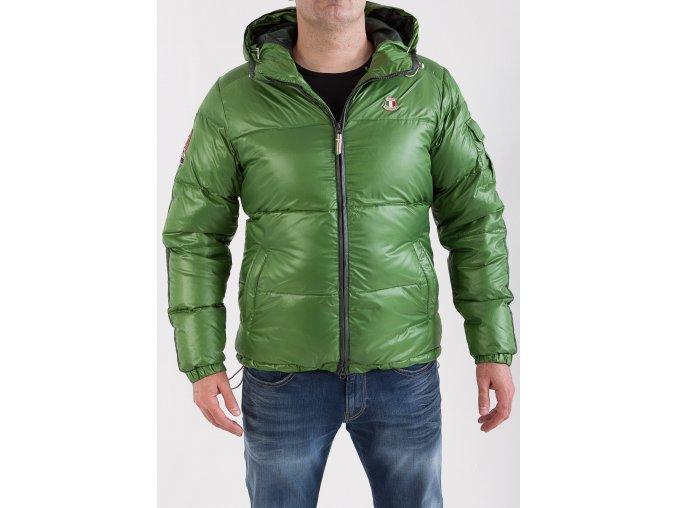 Pánska zimná bunda DOLOMITE KARAKORUM EVO green