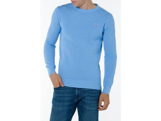 Pánsky bledomodrý sveter Gant
