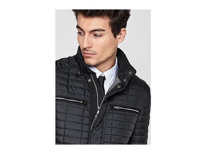 Čierna prechodná bunda s.Oliver