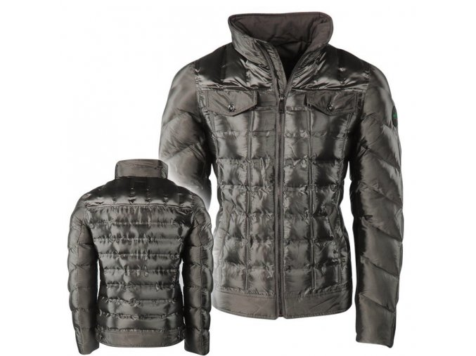 hwj 845 nickelson 3 0 heren winterjas gewatteerd denim zilver moda italia fashion 1