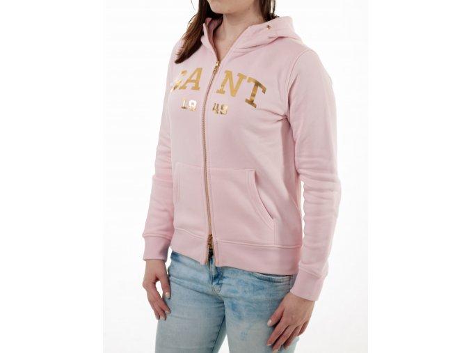 Dámska ružová mikina Gant