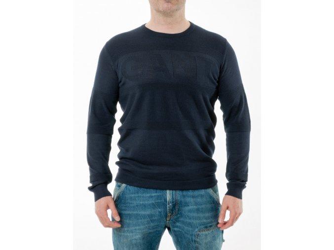 Tmavomodrý sveter Gant